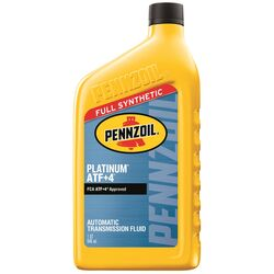 PENNZOIL  Platinum  ATF+4  Automatic Transmission Fluid  1 qt.