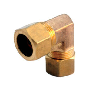 JMF  7/8 in. Compression   Brass  Elbow
