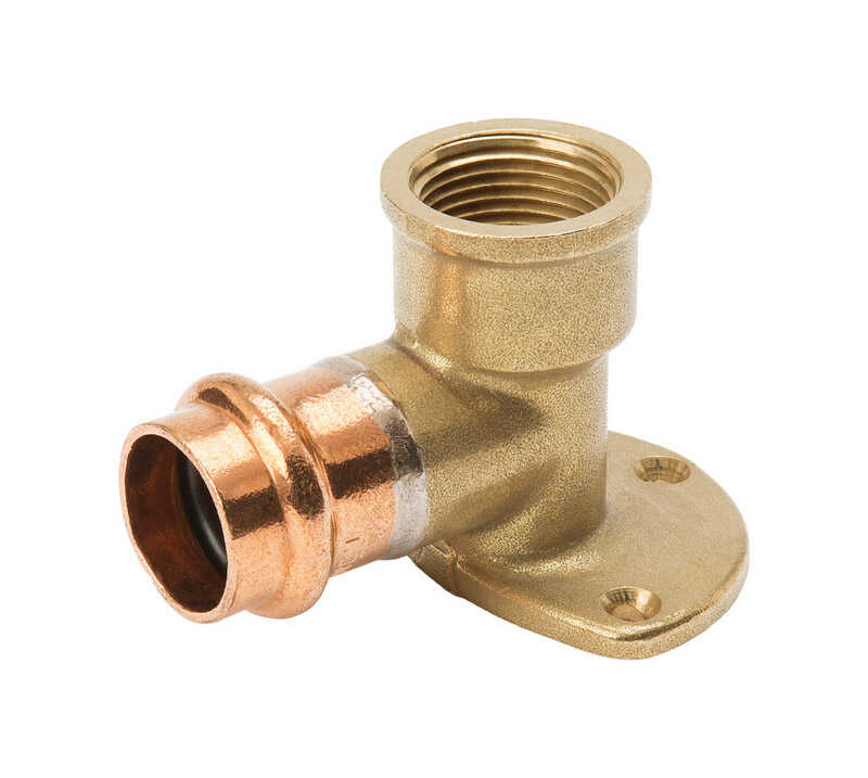 Mueller Streamline  Streamline  1/2 in. Press   x 1/2 in. Dia. Press  Copper  Elbow Drop 90 Degree w