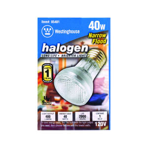 Westinghouse  40 watts PAR16  Floodlight  Halogen Bulb  400 lumens 1 pk
