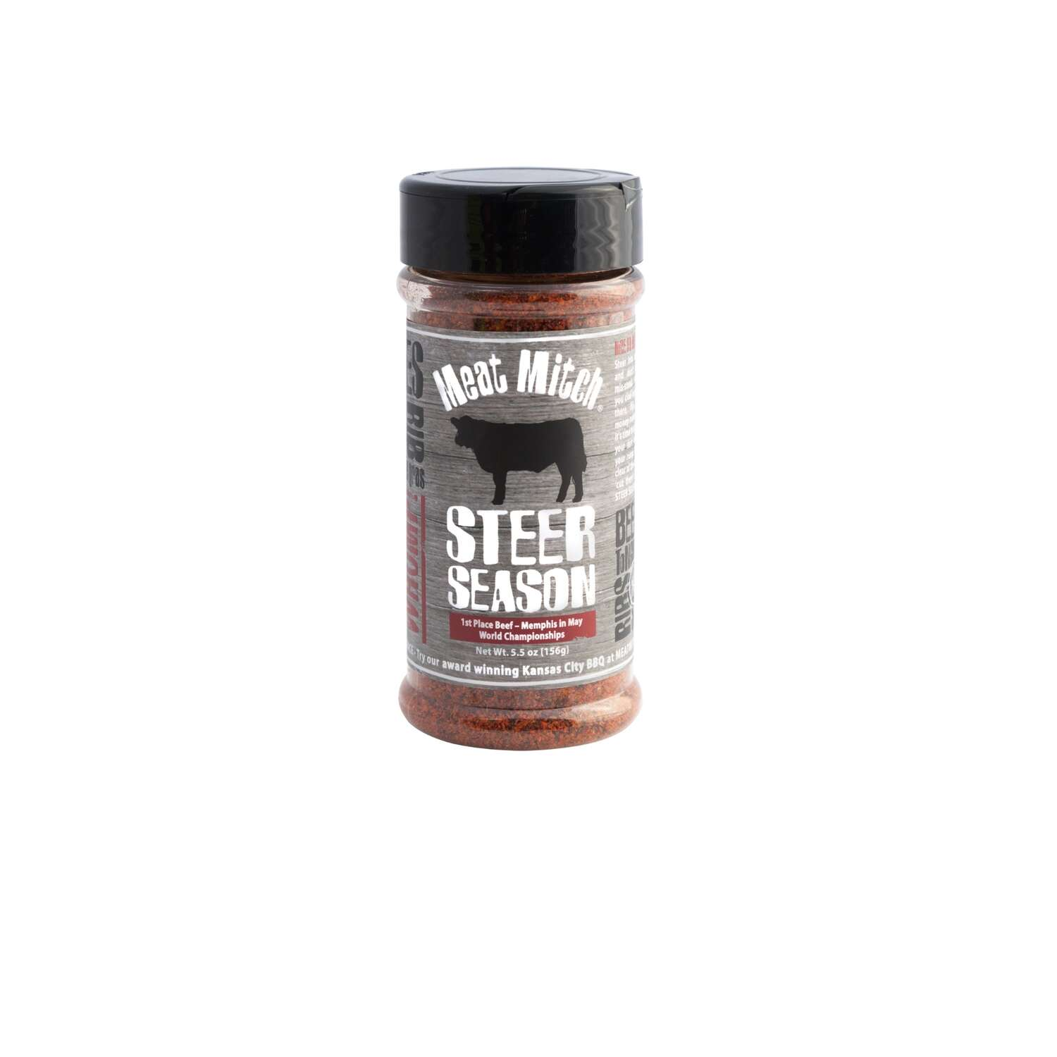 Meat Mitch  Steer Season  Beef Rub  5.5 oz.