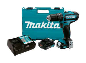 Makita  CXT  12 volt Brushed  Kit  Kit 3/8 in. 1700 rpm Cordless Hammer Drill/Driver