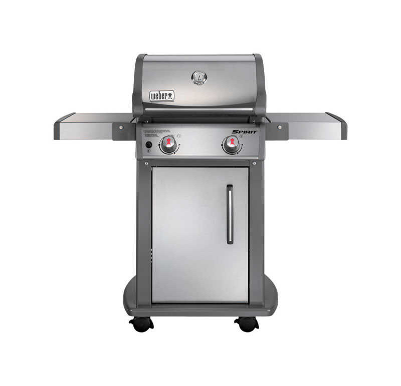 Weber  Spirit S-210  2 burners Natural Gas  Grill  Stainless Steel  26500 BTU