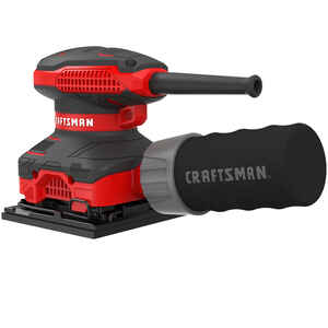 Craftsman  2 amps Corded  1/4 Sheet  Finishing Sander  1/4 in. L x 2 in. W 13500 opm