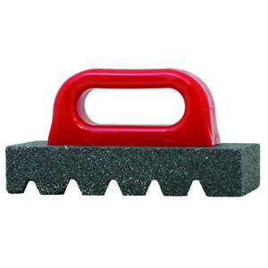Gator  8 in. L x 3-1/2 in. W Rubbing Brick  Silicon Carbide  1 pc.