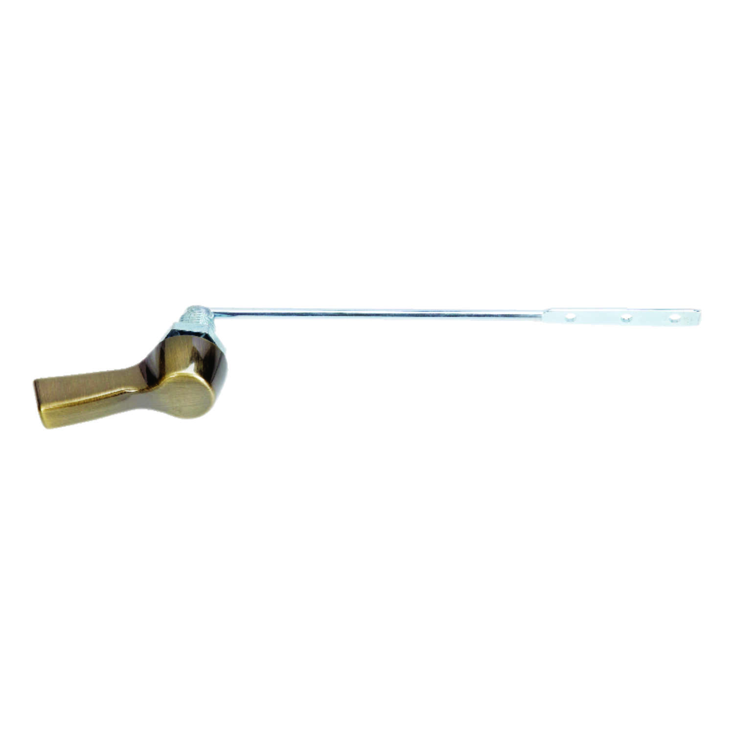 Ace  Flush Lever  8 in. L Brass