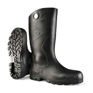 Dunlop  Waterproof Boots  Size 9  Black  Male