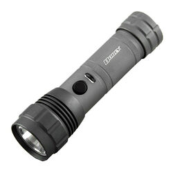 Dorcy  Z Drive PWM  300 lumens Gray  LED  Flashlight  AAA Battery