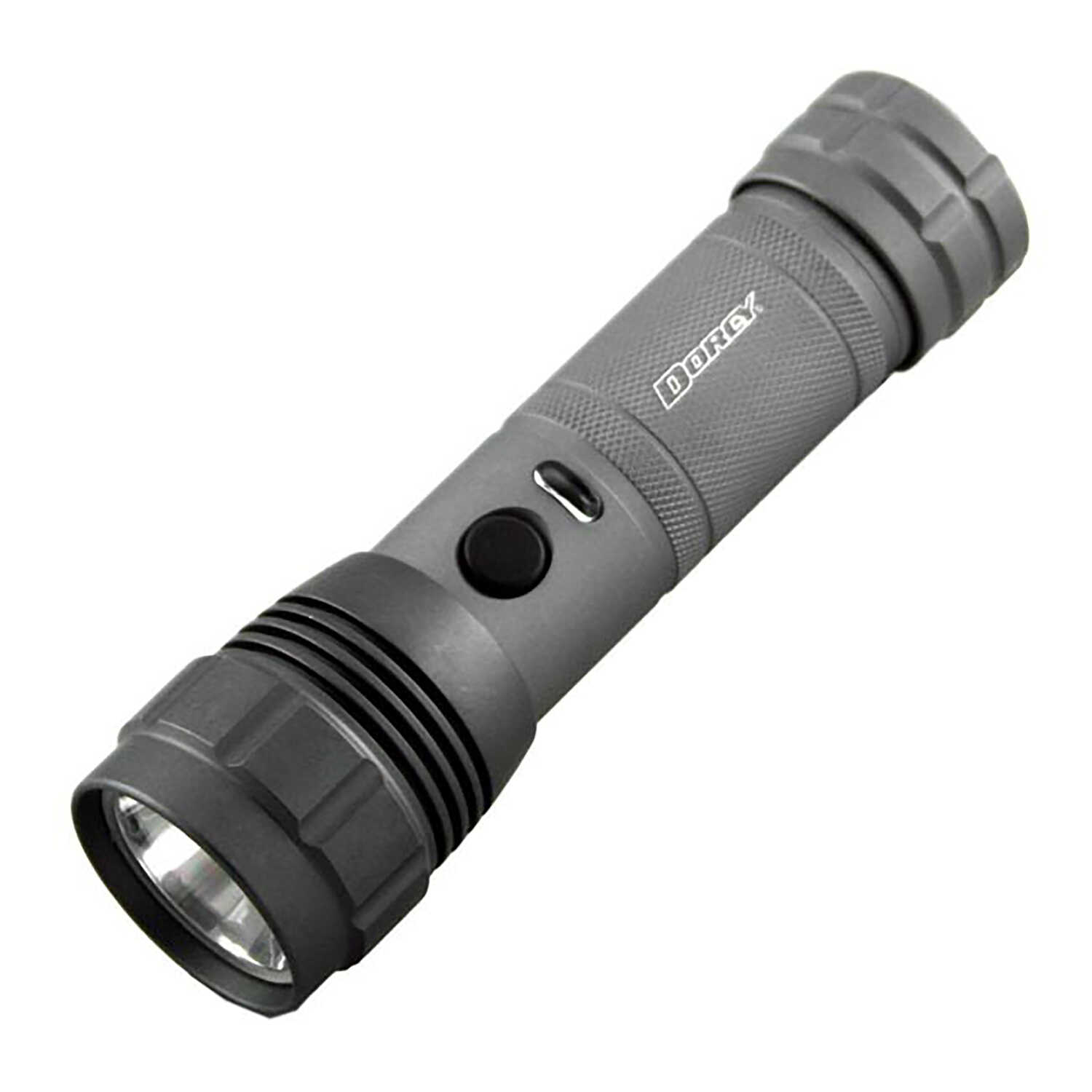 Dorcy  Z Drive PWM  300 lumens Gray  LED  Flashlight  AAA