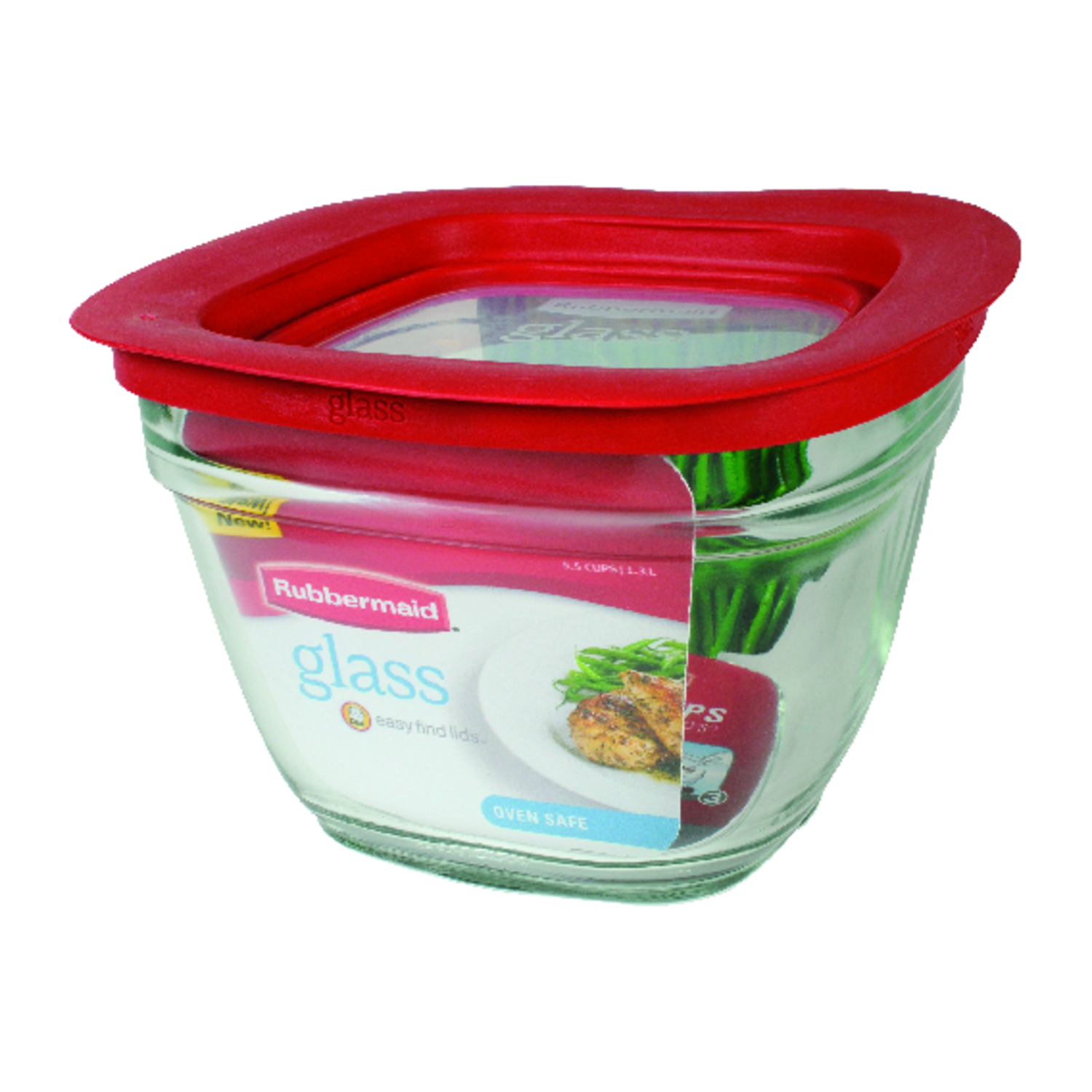 Rubbermaid  Food Storage Container  5.5 cups