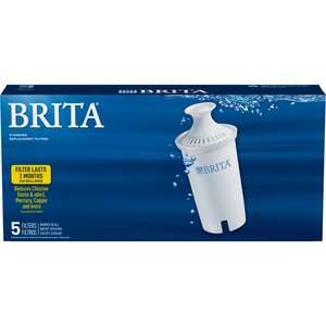 Brita Replacement Pitcher Filter 40 gal. Pack