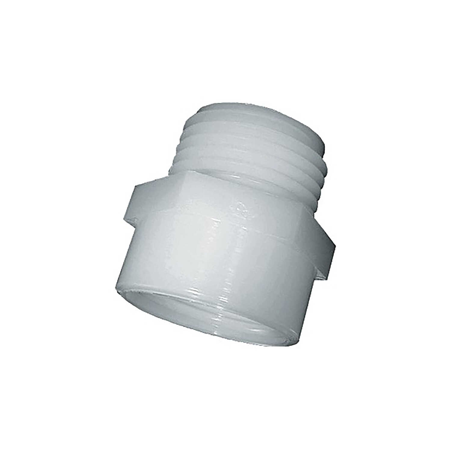 Green Leaf  3/4 in. MGHT   x 3/4 in. Dia. FPT  Nylon  Hose Adapter