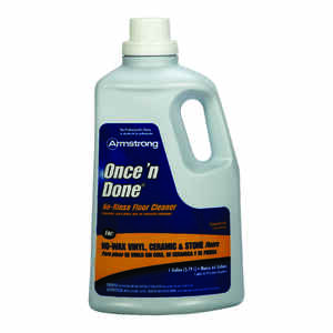 Armstrong  Once'N Done  Citrus Scent Floor Cleaner  Liquid  1 gal.