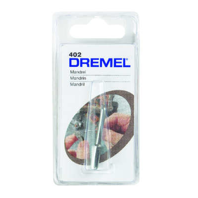 Dremel 1/8 in. x 2.75 in. L x 1/8 in. Dia. Steel Mandrel 1 pk