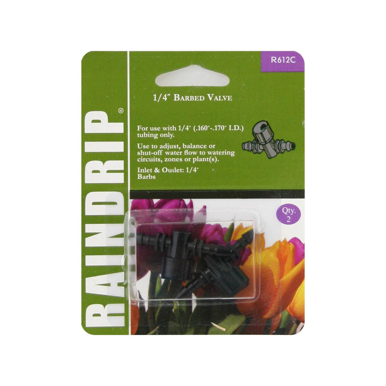 Raindrip Plastic Drip Irrigation Barbed Connector 1 pk - Ace