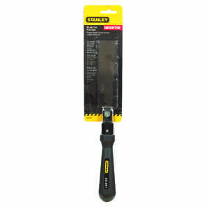 Stanley  FatMax  4 in. Steel  Pull Saw  22 TPI