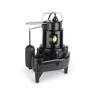 ECO-FLO  1/2 hp 8200 gph Cast Iron  Sewage Pump