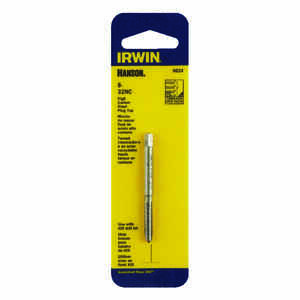Irwin  Hanson  High Carbon Steel  SAE  Plug Tap  8-32NC  1 pc.