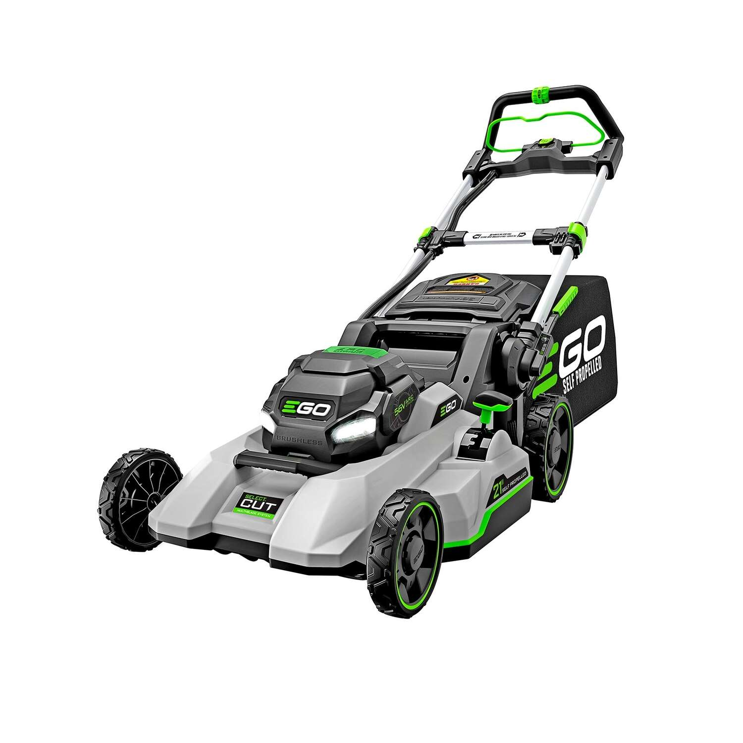 EGO  Select Cut  LM2135SP  21 in. 56 volt Battery  Self-Propelled  Lawn Mower Set