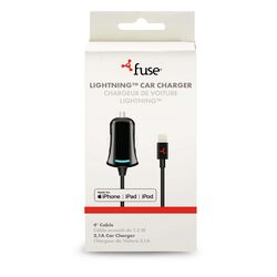 Fuse  4 ft. L Lightning Cable  1 pk