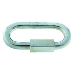 Campbell Chain  Zinc-Plated  Steel  Quick Link  2200 lb. 3-3/16 in. L