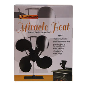 US Stove  Ashley Miracle Heat  Steel  Elegant  Wood Stove Fan