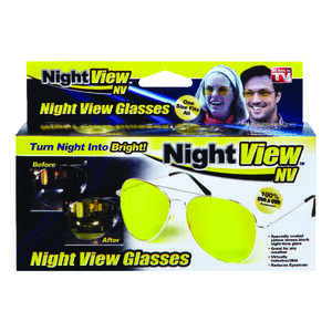 Night View Glare Reduction Glasses  Yellow