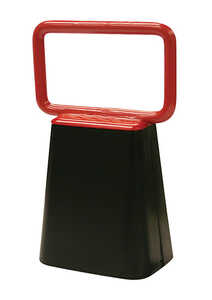 SpeeCo  Steel  6.75 in. H Cowbell