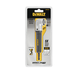 DeWalt  Impact Ready  Metal  1 pc. Right Angle Drill Attachment
