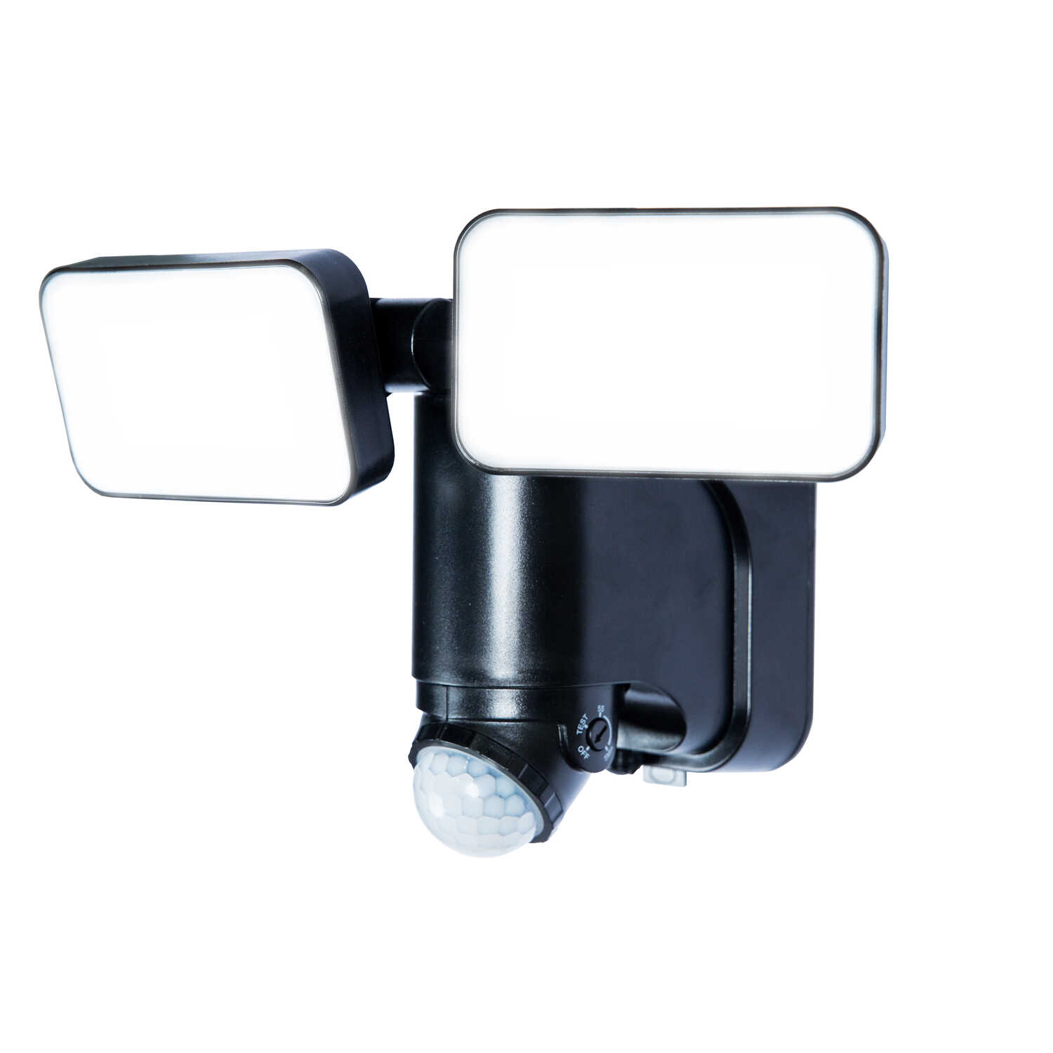 Heathco  Plastic  Solar Powered  Black  Motion-Sensing  LED  Security Light