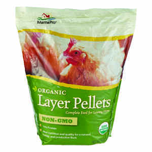 Manna Pro  Layer Pellets  Feed  Pellets  For Poultry 10 lb.
