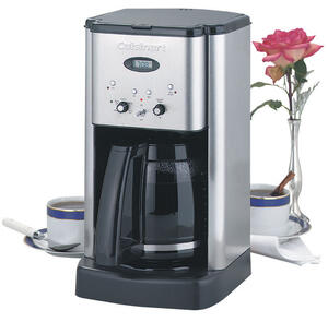Cuisinart  Brew Central  12 cups Black/Silver  Coffee Maker