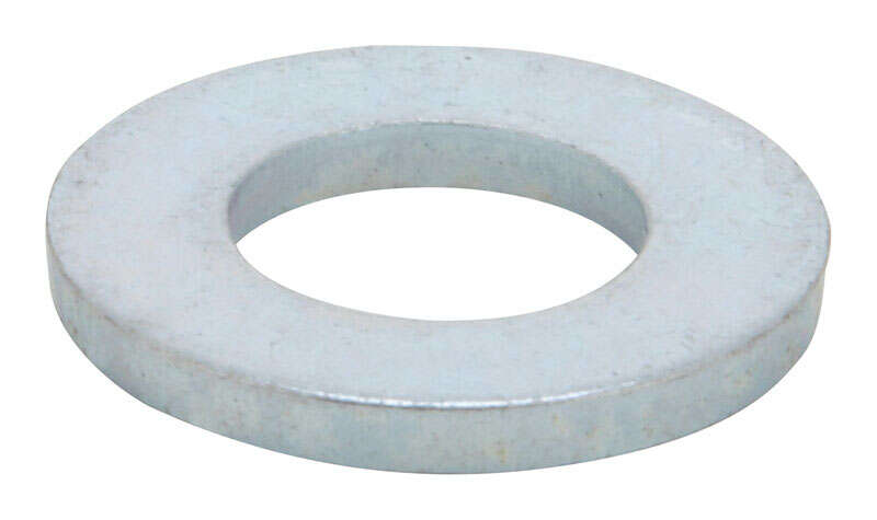 HILLMAN  Zinc-Plated  Steel  M8 mm Flat Washer  100 pk