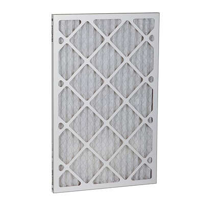 BestAir 20 in. W x 14 in. H x 1 in. D 8 MERV Pleated Air Filter