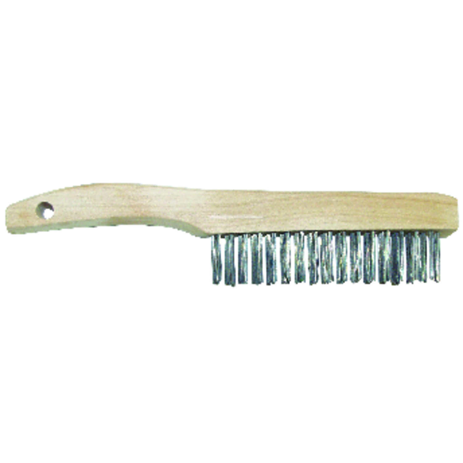 Allway  1-1/16 in. W x 10.25 in. L Carbon Steel  Wire Brush