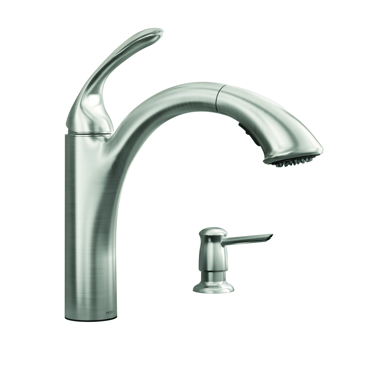 Moen  One Handle  Pulldown Kitchen Faucet  Renzo