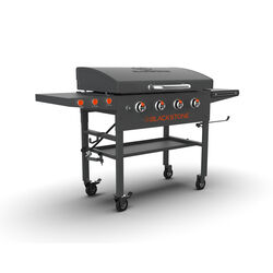 Blackstone  4 burners Liquid Propane  Outdoor Griddle  Black