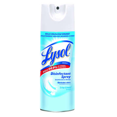 Lysol Crisp Linen Scent Disinfectant Spray 12.5 oz. 1 pk