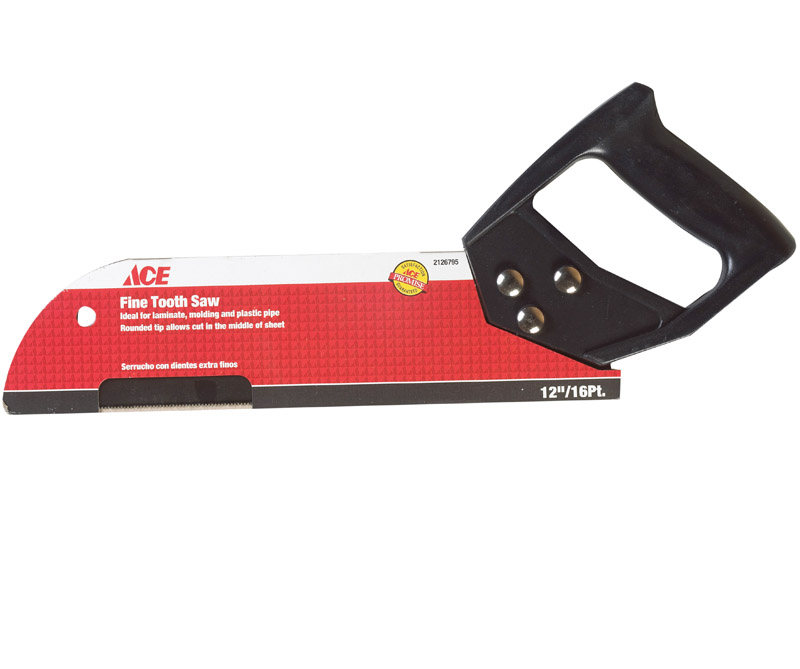 Ace  12 in. Steel  16 TPI Fine Cut Pipe Saw