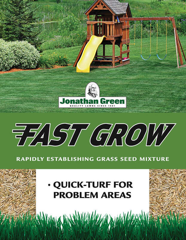 Jonathan Green  Fast Grow  Mixed  Grass Seed Mixture  15 lb.