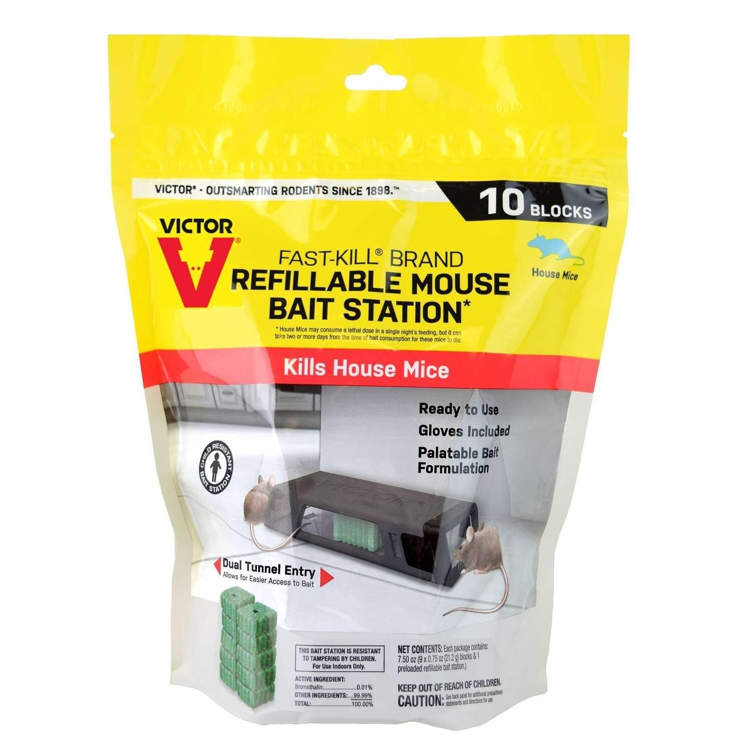 Victor  Fast-Kill  Animal Trap  For Mice 1 pk