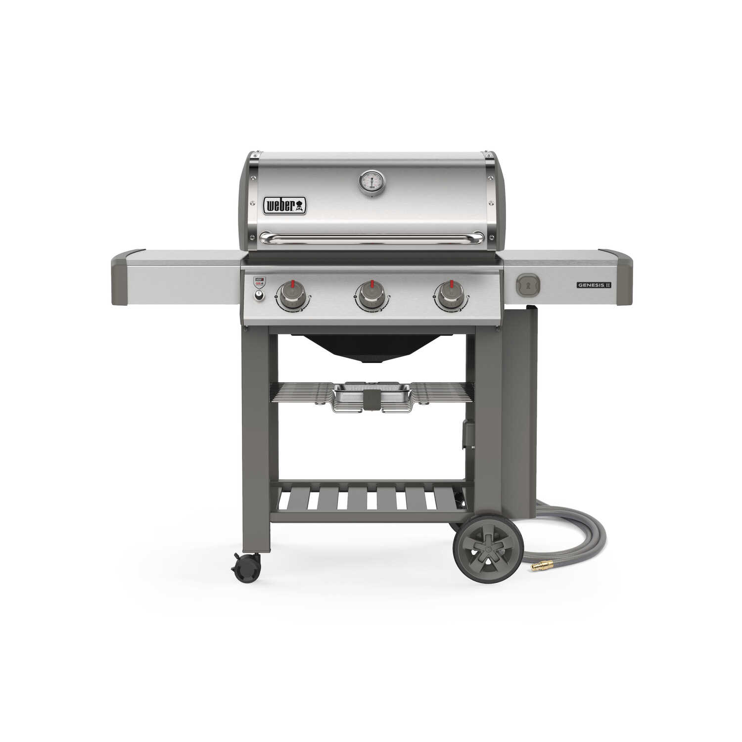 Weber  Genesis II S-310  3 burners Natural Gas  Grill  Stainless Steel  39000 BTU