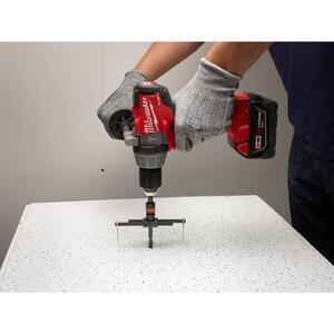 Milwaukee  2-7 in. Dia. x 1/4 in. L Bi-Metal  Adjustable Hole Cutter  1/4 in. 3 pc.