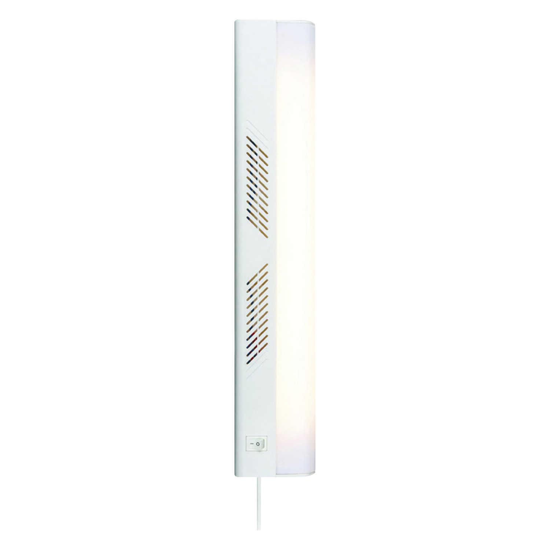 Westek 18 in. L White Plug-In Fluorescent Strip Light - Ace Hardware