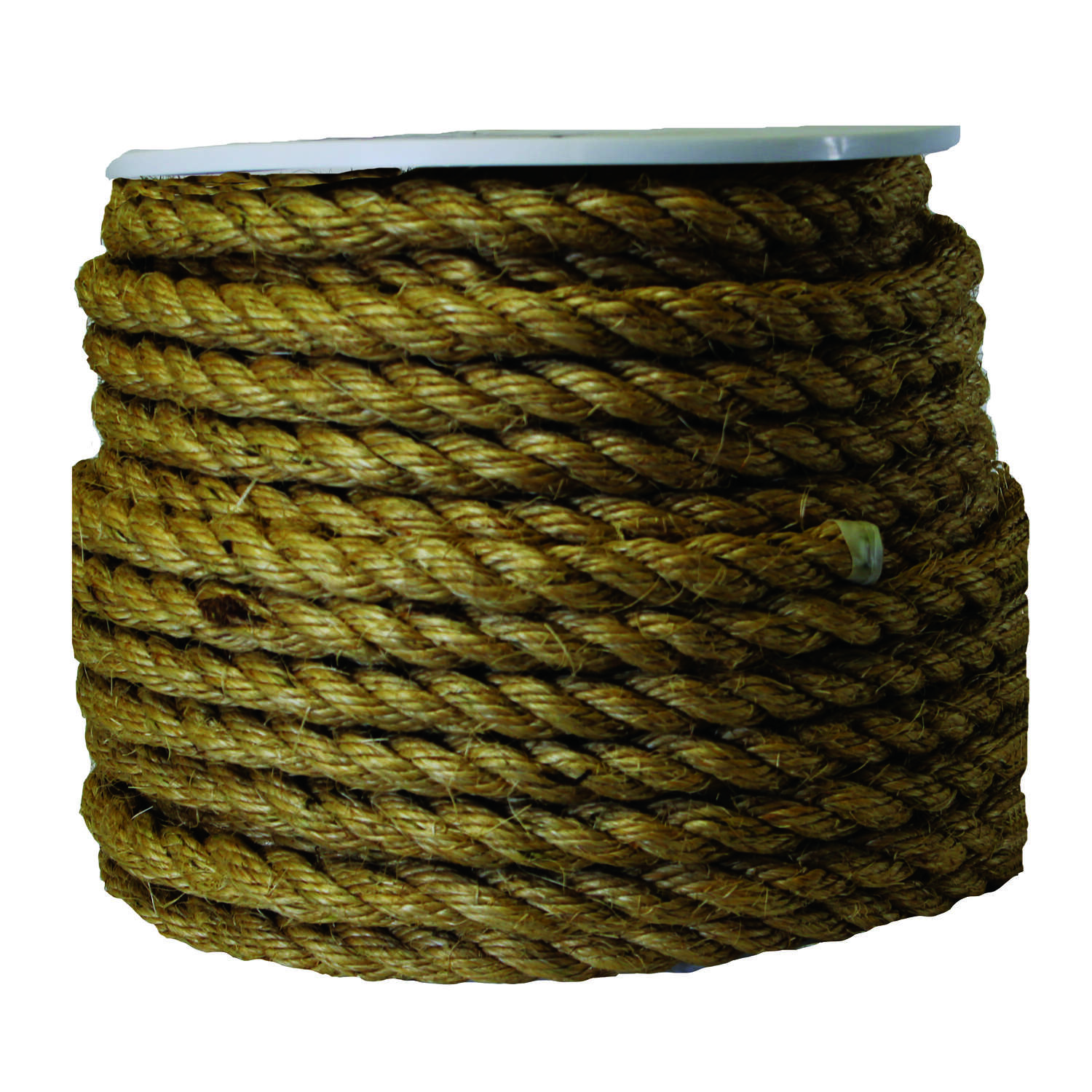 Ace  3/4 in. Dia. x 150 ft. L Brown  Braided  Sisal  Rope
