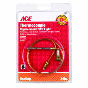Ace  24 in. L 24 volt Universal Thermocouple