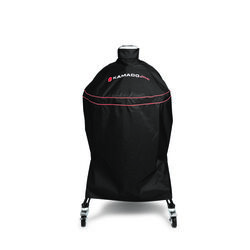 Kamado Joe  Black  Grill Cover  For Kamado Classic Joe Grill 49 in. W x 52 in. H