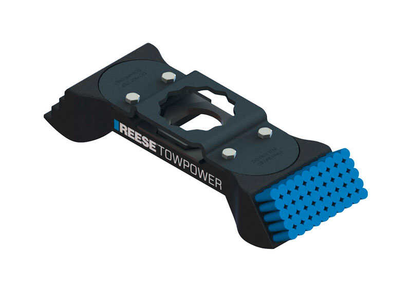 Reese  Towpower  Aluminum  Universal  9.08 in. Hitch Mount Boot Brush