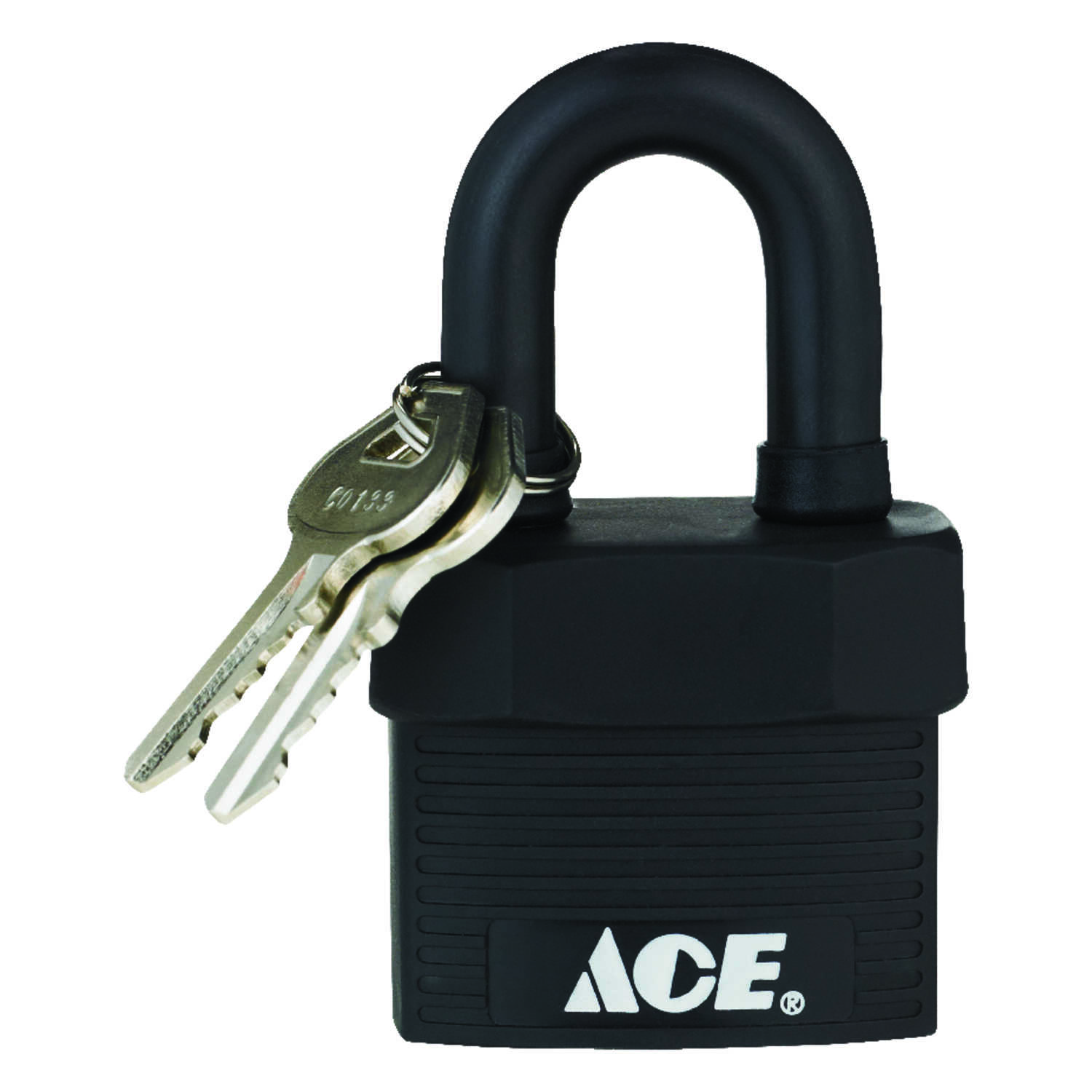 Ace  1-5/8 in. H x 1-3/4 in. W x 1-1/8 in. L Steel  Double Locking  Padlock  1 pk