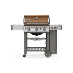 Weber  Genesis II E-330  Liquid Propane  Grill  Copper  3 burners